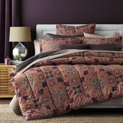 Highland Paisley Wrinkle-Free Comforter / Sham