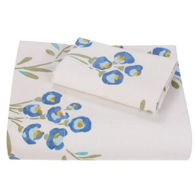 Canyon Floral Linen Fitted Sheet