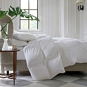 Legends® Damask Baffled White Goose Down Comforter