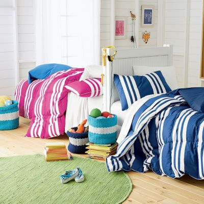 LaCrosse® Jr. TCS® Down Kent Stripe Comforter