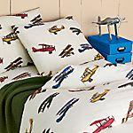 Aviators Percale Bedding