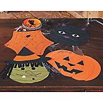 Happy Haunting Shaped Placemats