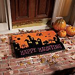 Happy Haunting Doormat