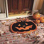 Jack-O-Lantern Doormat