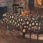 Spooky Pumpkin Table Linens