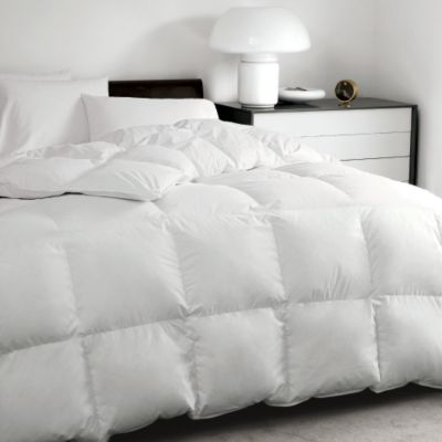 Alberta Supersize Baffled Goose Down Comforter