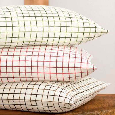 Windowpane Flannel Bedding