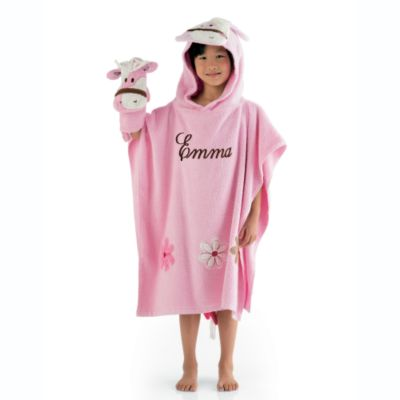 Pony Hooded Towel