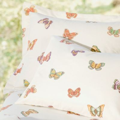 Enchanted Butterflies Flannel Bedding