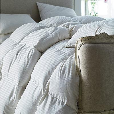 Legends 174 Damask Baffled White Goose Down Comforter The