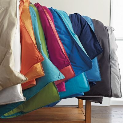 St. Tropez® Reversible Solid TCS® Down and TCS® Down-Free™ Comforter & Sham