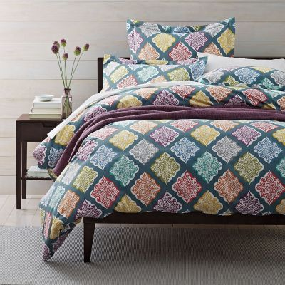 Arabesque Percale Duvet Cover / Sham