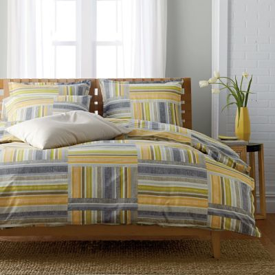 LoftHome by The Company Store® Austin Patchwork Duvet Cover
