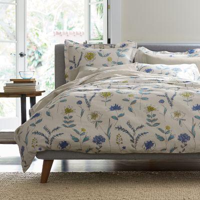 Dayton Floral Linen Bedding