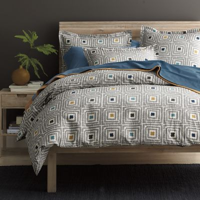 Square Dot Percale Bedding