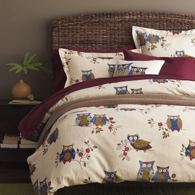 On Watch Flannel Bedding