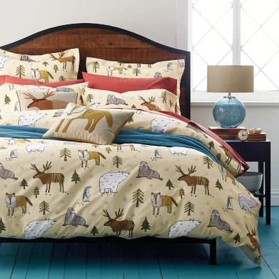 Fantasy Forest Percale Bedding