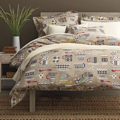 Café Au Lait Flannel Bedding