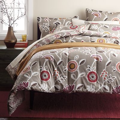 LoftHome By The Company Store® Morgan Floral & Geo Percale Bedding