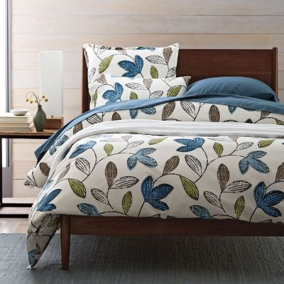 Lofthome By The Company Store® Suffolk Floral Percale Duvet Cover / Sham