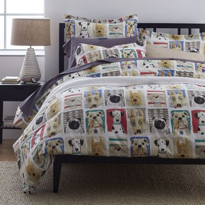 Puppy Love Percale Duvet Cover / Sham