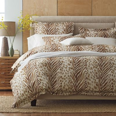 Safari 300-Thread Count Wrinkle-Free Duvet Cover