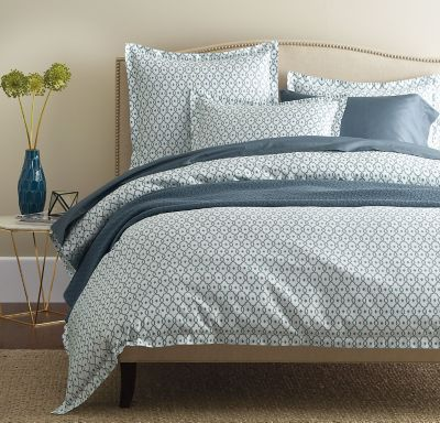 Legends® Arbor Blue Sateen Duvet Cover / Sham