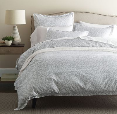 Legends® Willow Gray Sateen Duvet Cover / Sham