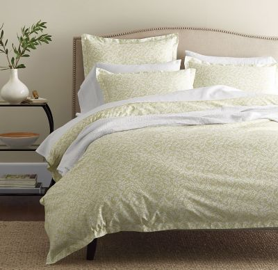 Legends® Willow Sage Sateen Duvet Cover / Sham