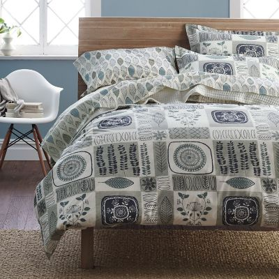 Chatham Patch Organic Percale Bedding