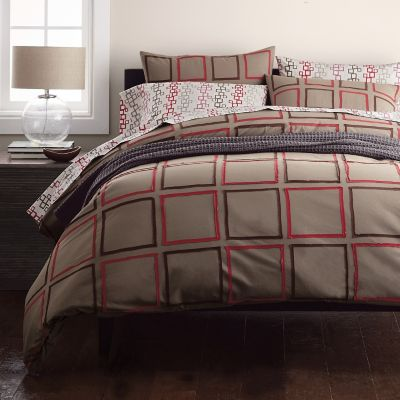 Lofthome By The Company Store® Metro Squares Duvet Cover / Sham