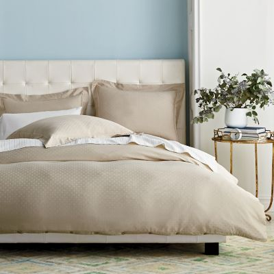 Legends® Luxury 500-Thread Count Dot Sateen Oversized Duvet Cover