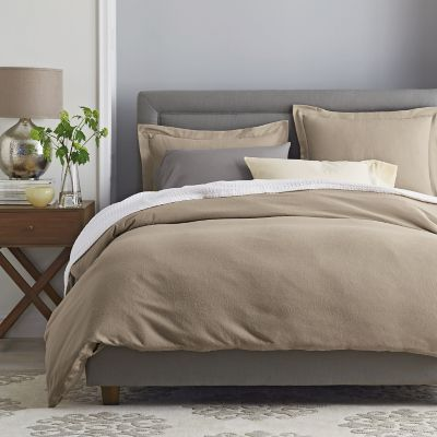 Legends® 6 oz. Solid Sateen Flannel Duvet Cover