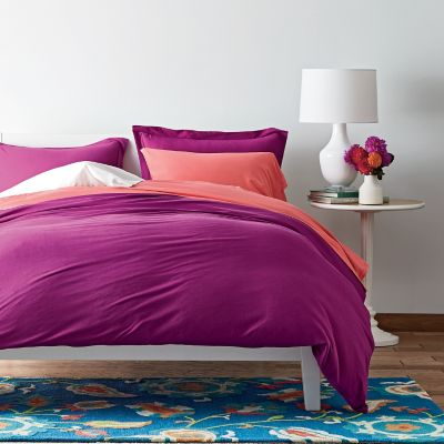 Jersey Knit Duvet Cover
