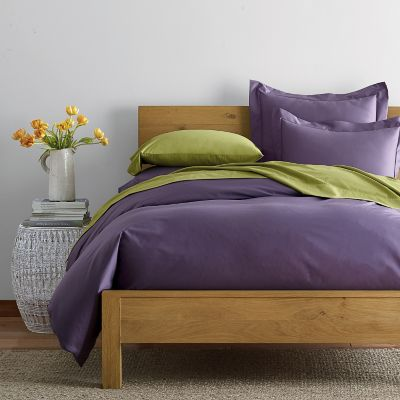 Wrinkle-Free 300-Thread Count Sateen Duvet Cover