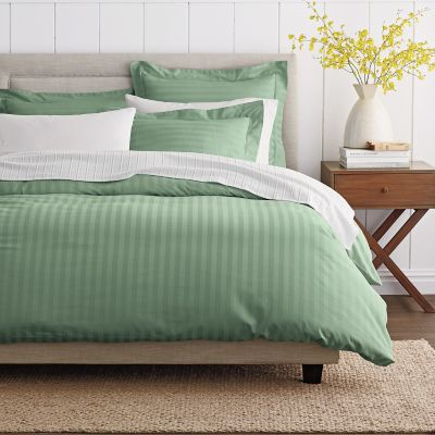 Classic Stripe Sateen Duvet Cover