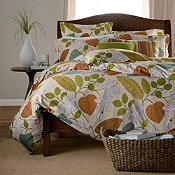 Tropical Garden Wrinkle-Free Sateen Duvet Cover and Sham