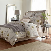 Comfort Wash Floral Linen Bedding