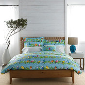 Songbirds Percale Duvet Cover and Sham