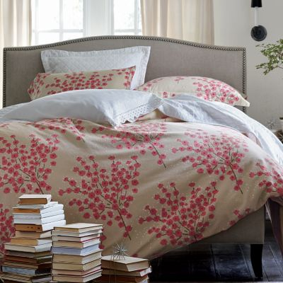 Emma Bouquet Flannel Bedding