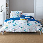 In The Swim Percale Duvet Cover and Sham