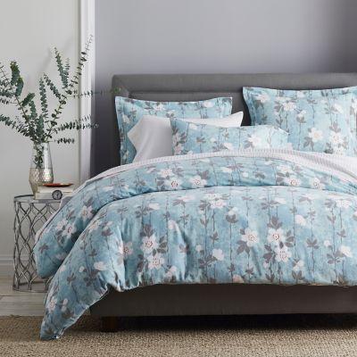 Legends® Floral Mist 6 oz. Sateen Flannel Bedding