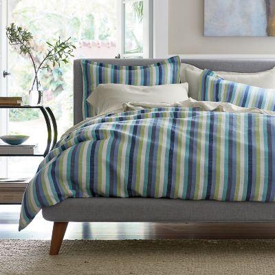 Dayton Stripe Linen Bedding