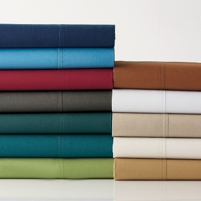 Classic Percale Solid Flat Sheets