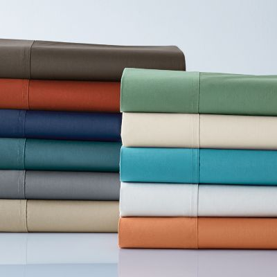 Wrinkle-Free 300-Thread Count Sateen Bedding