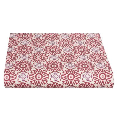 Woodblock Percale Bedding