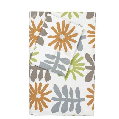 LoftHome By The Company Store® Sketchbook Collection - Orange/Olive