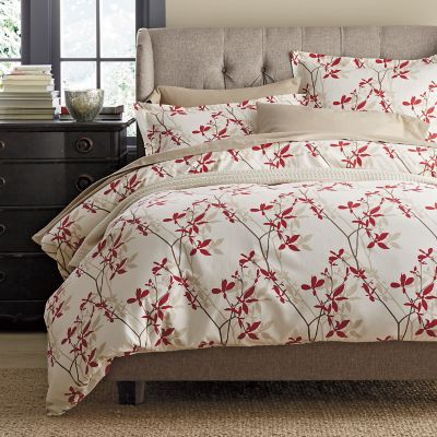 Shadow Vine Flannel Duvet / Sham