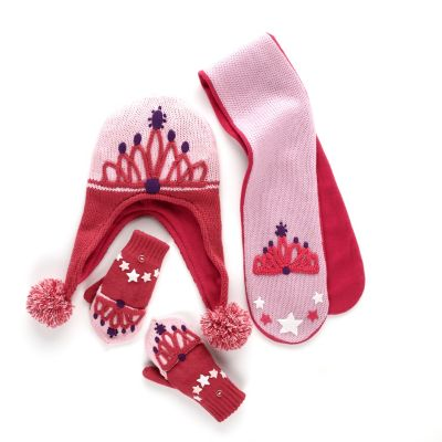 Kids' Fairy Sweater, Hat, Scarf & Mittens