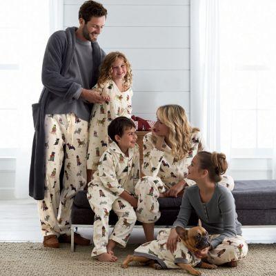 Furry Flurries Family  Pajamas